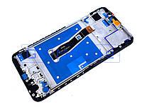 Дисплей + сенсор (модуль) Huawei P Smart 2019 (POT-L21, POT-LX1) черный + рамка