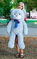 Плюшевый Мишка 120см. Большая Игрушка Мишка игрушка Плюшевый медведь Мягкие мишки игрушки Ведмедик (Серый), фото 1