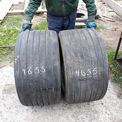 Шины б.у. 445.45.r19.5 Continental HTL1 Континенталь. Резина бу для грузовиков и автобусов