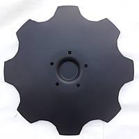 Диск бороны Lemken Rubin 9 ф625 s-6мм, 5 отв, кв13мм ст30Mnb5 Лемкен рубин (3490466, 3490467)