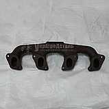 Коллектор выпускной ЮМЗ Д-65 (старого образца) А05-062-А, фото 2