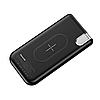 ПоверБанк Baseus Thin Version Wireless Charger Power Bank 10000 mAh с беспроводной зарядкой, фото 6