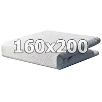 Непромокаемый махровый наматрасник с бортами - 160х200