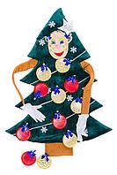 Реквизит для аниматоров Игровой набор «Новогодняя Ёлочка» карнавальный, фото 1