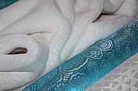 Искусственный мех белый (теплый тон), плотный , под кролика, №3005, фото 1