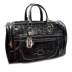 Дорожня шкіряна сумка Desisan велика