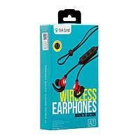 Наушники блютуз Stereo Bluetooth Headset Celebrat A7 White, фото 1