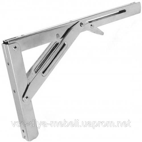 Крепление для складных столов L-300мм,сатин(Е.)