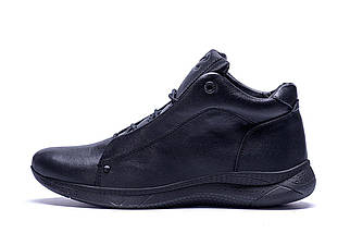 Мужские зимние кожаные ботинки в стиле Е-series New Kinhin, фото 2