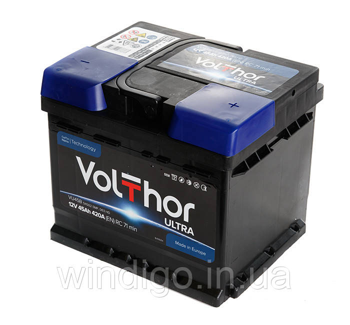 VolThor Ultra, 45 Ач, 420A