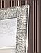 Зеркало настенное в раме Factura Steel texture 60х174 см стальное, фото 4
