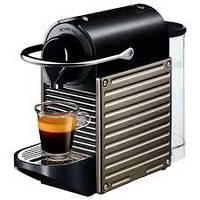 Кофемашина Nespresso Pixie Electric Titan