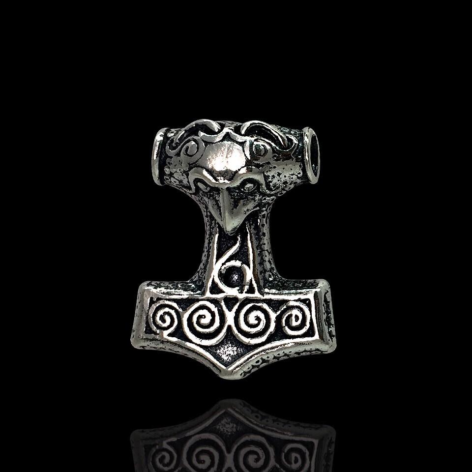 Серебряная подвеска Молот Тора, 12 грамм