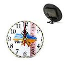 Маленькие подарочные часы карта Украины