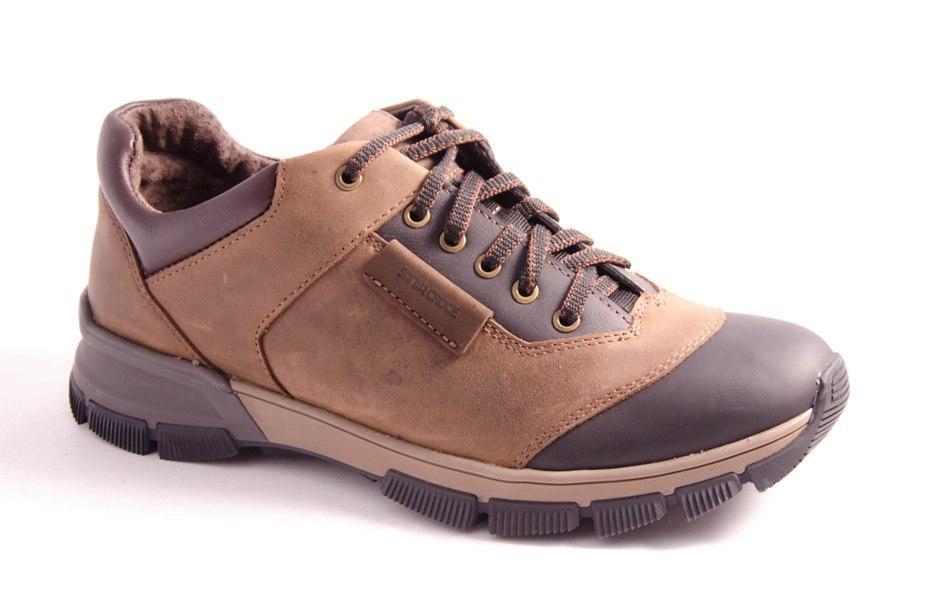 Кроссовки мужские коричневые Romani 5102806 р.40-45