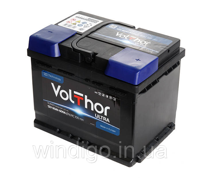 VolThor Ultra, 60 Ач, 600A