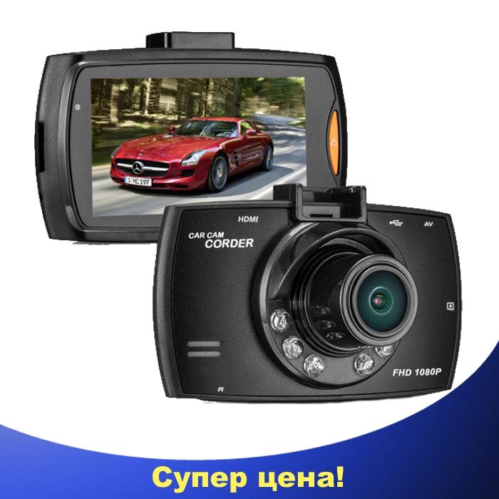 Автомобильный видеорегистратор G30 Full HD 1080P Черный, фото 1