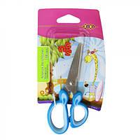 Ножницы детские ZiBi ZB5011 128мм с резиновыми вставками на ручках