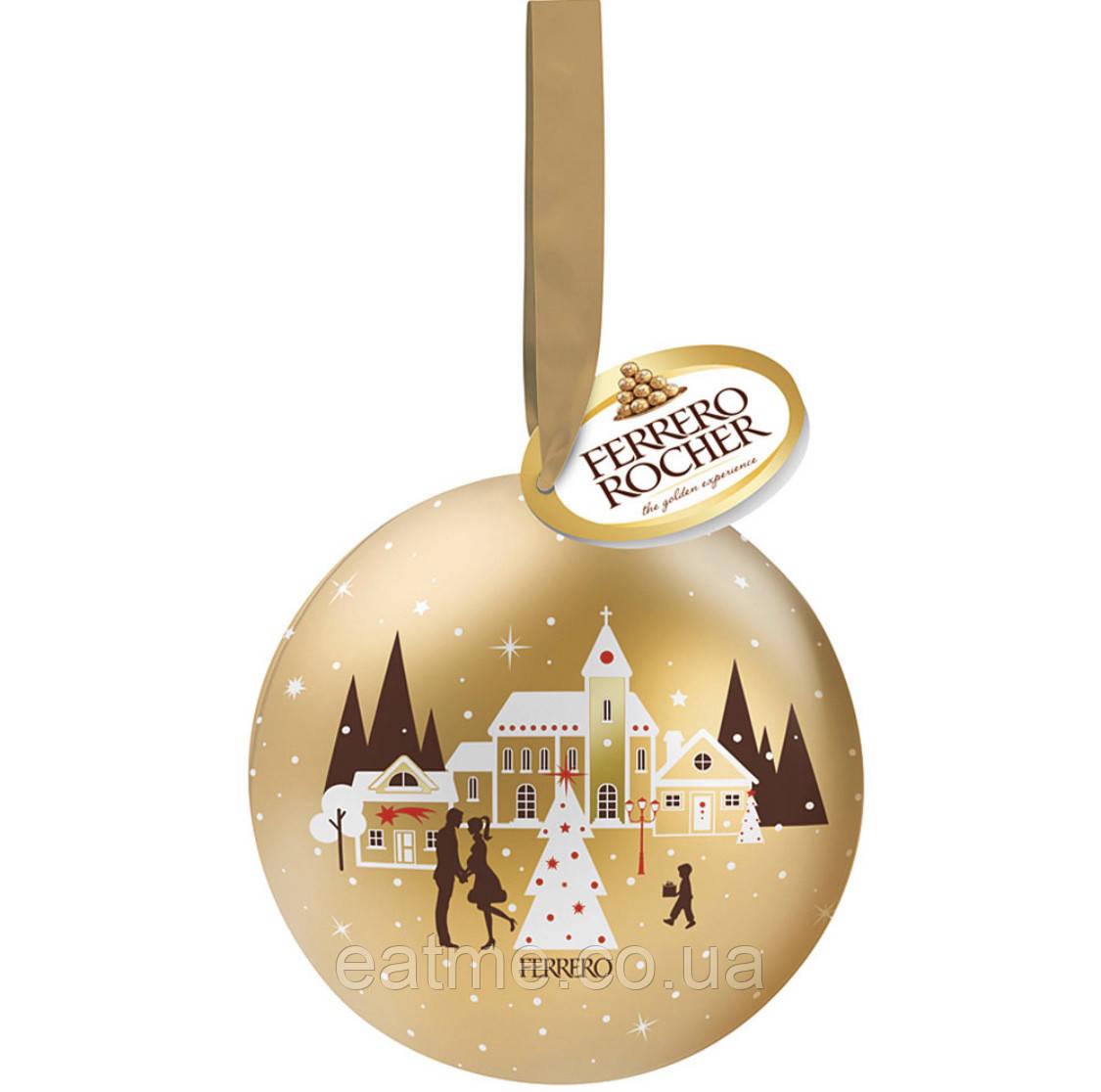 Ferrero Rocher Deko-Weihnachtskugel Шар на ёлку с конфетами внутри