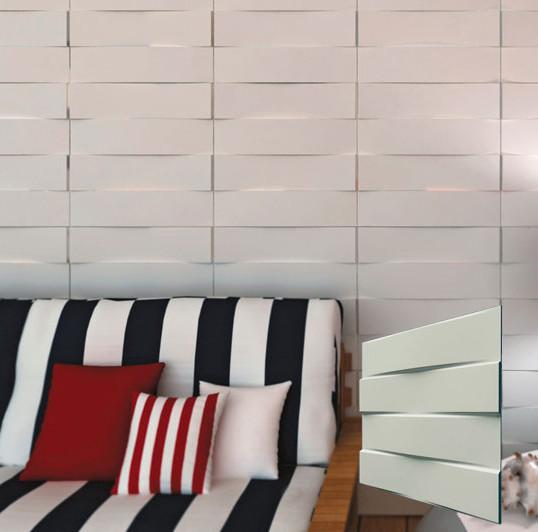 """Гипсовая 3d панель для стен """"Своды"""" (декоративная стеновая 3д панель)"""