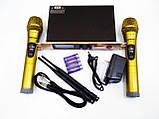 Радиосистема Shure SH-300G база 2 радиомикрофона, фото 3