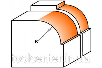Фреза СМТ R9,5х31,7x16x8 радиусная, фото 2