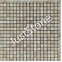 Мозаика из мрамора Полированная МКР-4П (15х15) 6 мм Victoria Beige MB, фото 3