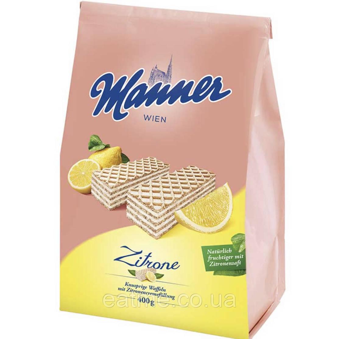 Manner Невероятно вкусные Венские вафли с лимонной начинкой