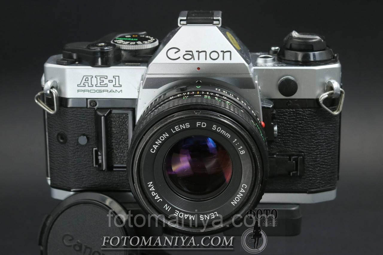 Canon AE-1 Program  kit Canon nFD 50mm f1.8