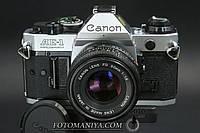 Canon AE-1 Program  kit Canon nFD 50mm f1.8, фото 1
