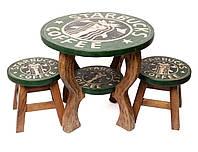 """Детский комплект """"STARBUCKS"""",столик+2 стульчика"""