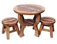 """Детский комплект """"Harley Davidson"""",столик+2 стульчика"""