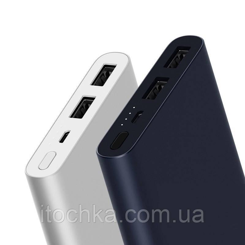 Универсальная батарея Xiaomi Mi Power Bank 2s 10000 mAh