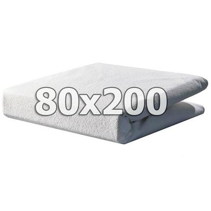 Непромокаемый махровый наматрасник с бортами - 80х200, фото 2
