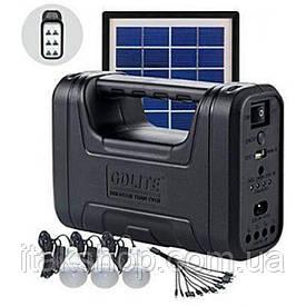 Портативная универсальная солнечная станция GDLITE GD-8017 Plus