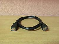 Кабель HDMI to HDMI 1.0m, фото 1