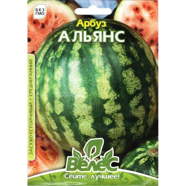Семена арбуза «Альянс» (5 г) от ТМ «Велес»