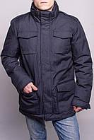 Куртка мужская темно-синяя (размер S)