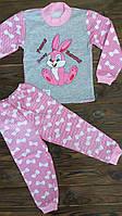 Детская пижама для девочки Зайчик