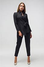 Молодежный женский костюм Этюд черный (44-50)