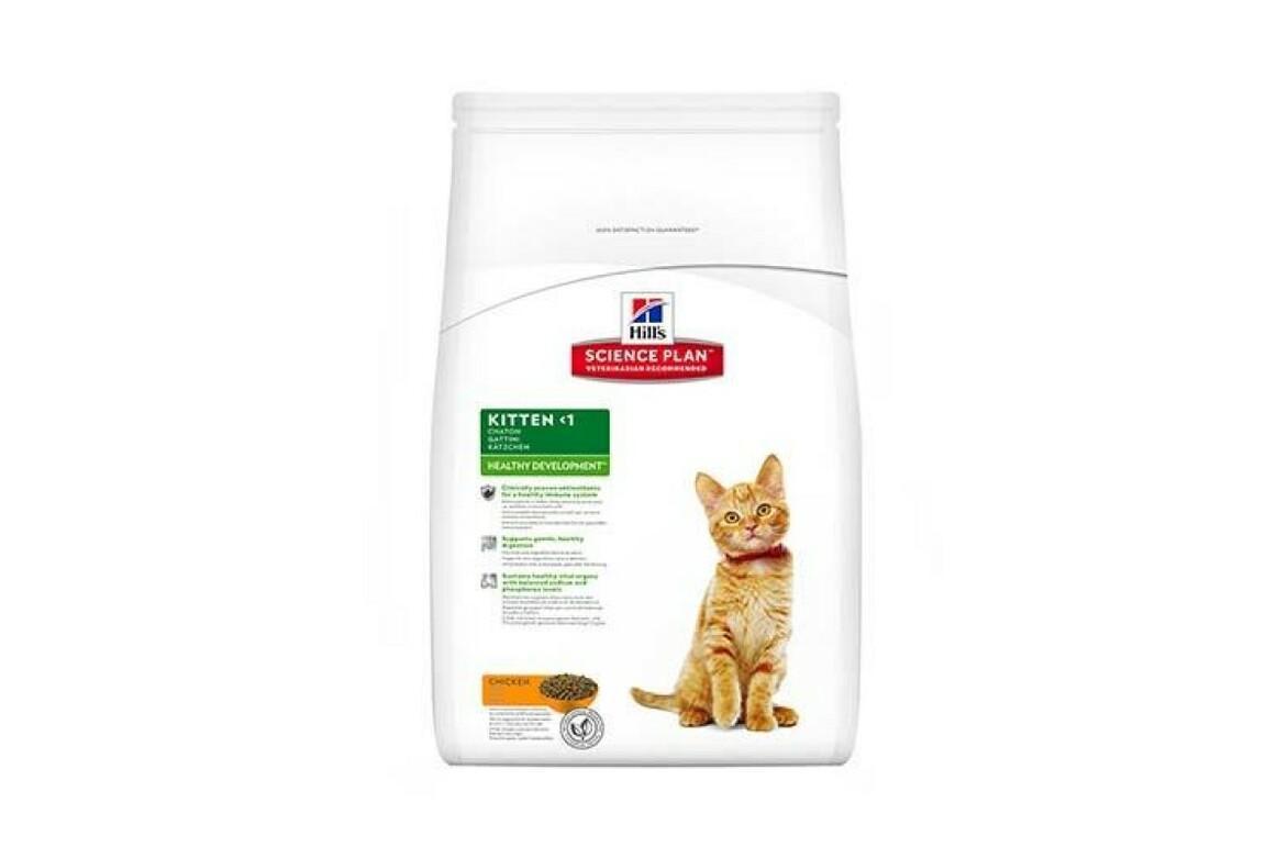 Сухой корм Hills Science Plan Feline Kitten Healthy Development Chicken для котят, с курицей, 10 кг