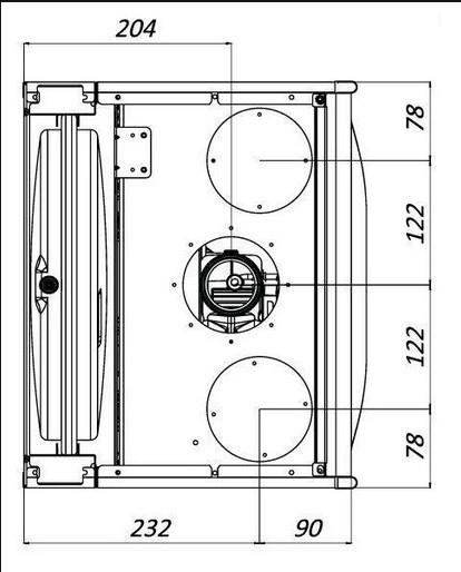 Дымоудаление и вентиляция газового котла Hi-Therm PRIME 24 кВт