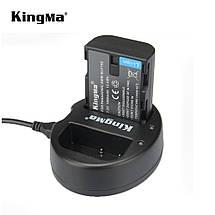 Подвійне зарядний пристрій BM015-BLF19 KingMa для Panasonic DMW-BLF19, фото 3