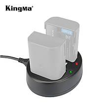 Подвійне зарядний пристрій BM015-BLF19 KingMa для Panasonic DMW-BLF19, фото 2