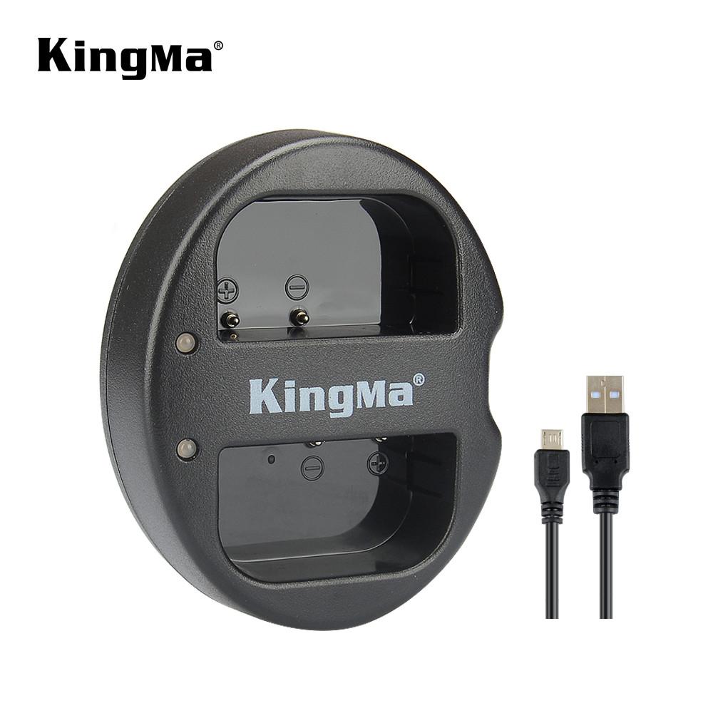 Подвійне зарядний пристрій BM015-BLF19 KingMa для Panasonic DMW-BLF19