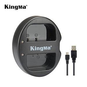 Двойное зарядное устройство BM015-BLF19 KingMa для Panasonic DMW-BLF19