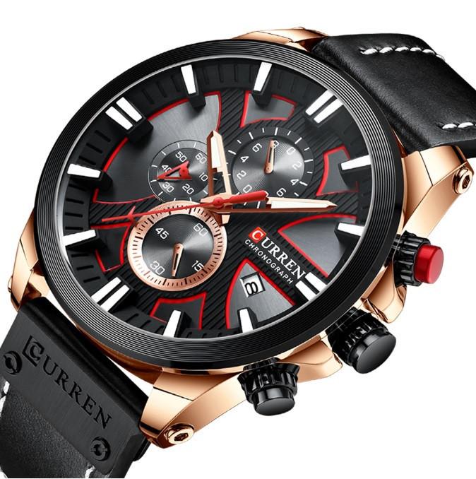 Мужские часы Curren 8346 (black)