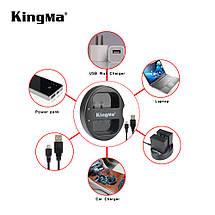Двойное зарядное устройство Kingma BM015 для Nikon EN-EL15, фото 3