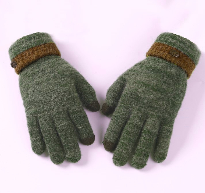 Мужские перчатки для сенсорных экранов BlueFuel green