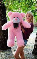 Плюшевый Мишка 100см. Большой Мишка Ромео игрушка Плюшевый медведь Мягкие мишки игрушки Ведмедик (Розовый), фото 1